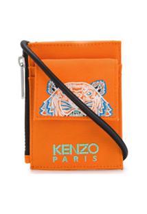 Kenzo Tiger Shoulder Strap Pouch - Laranja