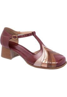 6dfe8595a Privalia. Sapato Tradicional Em Couro Com Recortes ...