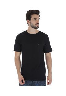 Camiseta Hurley Silk Incon - Masculina - Preto