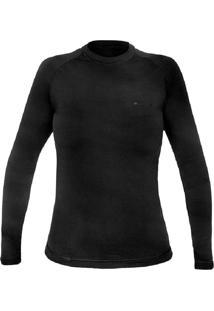 T-Shirt Thermosense - Fem. Preto Pp - Kanui