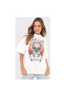 Camiseta Colcci Nice Life Off-White