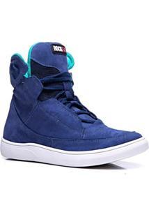 Tênis Cano Alto Rockfit Blur Masculino - Masculino-Azul
