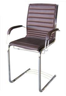Cadeira Secretária Fixa Com Braço Capa Removível Sottile Movelfar - Multistock