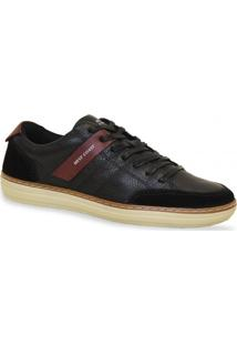 Sapatenis West Coast Casual Floater Gross Preto