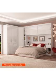 Guarda-Roupa Closet Modulado 6 Pt 4 Gv Gênova Branco