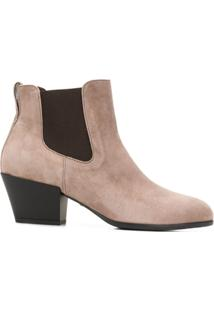 Hogan Ankle Boots - Cinza