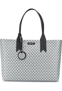 Emporio Armani Monogram Tote Bag - Cinza