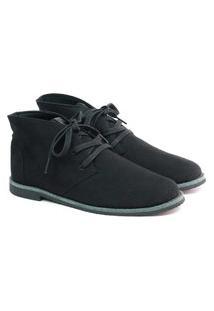 Bota Walker Boot Suede Black