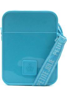 Bolsa Petite Jolie Logo Azul
