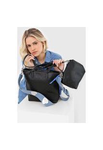 Bolsa Desigual Shopping Bag Nurs Preta