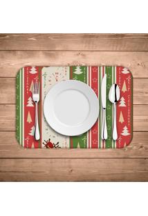 Jogo Americano Wevans Merry Christmas