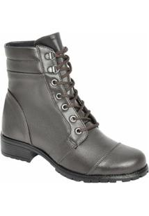 Bota Top Franca Shoes - Feminino-Café