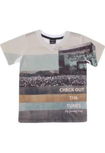 Camiseta Quimby Em Meia Malha Check Out - Masculino
