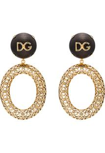 Dolce & Gabbana Par De Brincos Catena - Zoo00