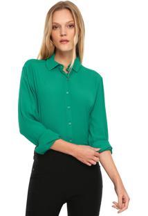 Camisa Colcci Lisa Verde