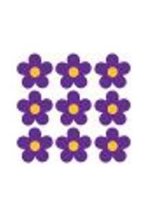 Adesivo De Parede - Flores - 002In-M