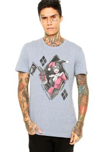 Camiseta Fashion Comics Suicide Attraction Azul