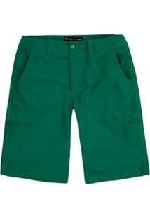 Bermuda Hering Básica Com Bolsos Embutidos Masculina - Masculino-Verde