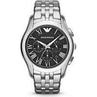 f18789fc383 Relógio Emporio Armani Analógico Ar17861Pn Masculino - Masculino-Prata