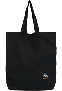 Wood Wood Graphic Patch Tote Bag - Azul