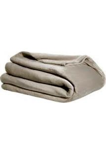 Cobertor Queen Blanket Flannel Dune Cobre