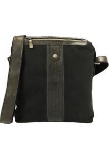 Bolsa Para Tablet Em Lona E Detalhes Em Couro Bennesh 16027