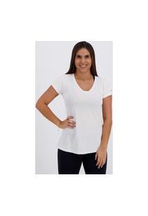 Camiseta Fila Bio Coat Uv Feminina Branca