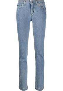 Dolce & Gabbana Calça Jeans Slim - Azul