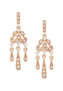 V Jewellery Par De Brincos 'Lorelei' - Metálico