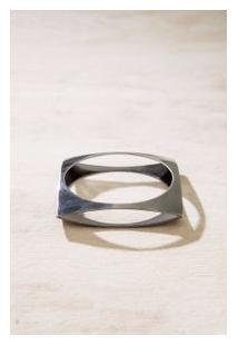 Bracelete Quadrado Prata Velho