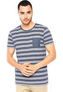 Camiseta Aramis Listrada Azul