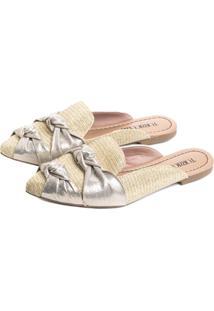 Sapato Torricella Dourado