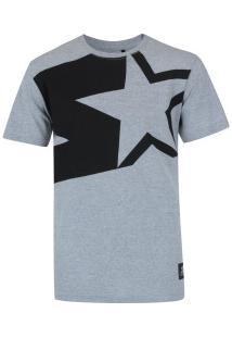Camiseta Starter Estampa Big Star - Masculina - Cinza