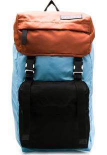 Marni Colour Block Backpack - Azul