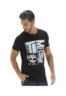 Camiseta Timberland Tbl City Logo - Masculina - Preto
