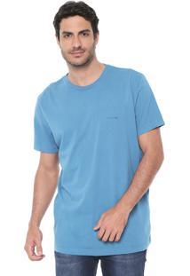 Camiseta Richards Logo Azul