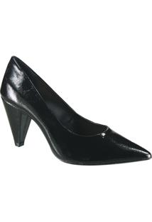Sapato Scarpin Azaleia - Feminino-Preto