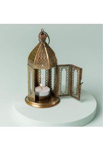 Luminária Adour Cor: Ouro - Tamanho: Único