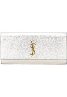 Saint Laurent Clutch 'Kate' - Metálico