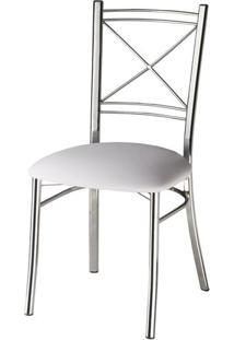 Cadeira Assento Korino Branco Enc. Aramado 12296 - Sun House