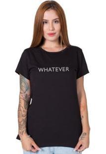 Camiseta Stoned Whatever Feminina - Feminino