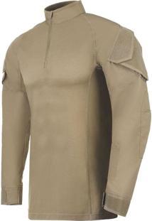 Camisa De Combate Invictus Operator Caqui Mojave Bege
