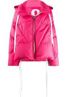 Khrisjoy Oversized Puffer Jacket - Rosa