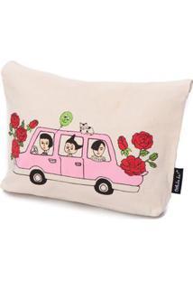 Necessaire Flower Cor: Rosa Pink - Tamanho: Único