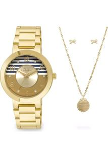 Relógio Feminino Strass Condor Co2035Ktfk4D