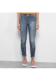Calça Jeans Skinny Colcci Bia Estonada Feminina - Feminino