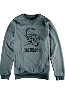 Blusa De Moletom Nucky Crewneck Stone Emerica - Masculino