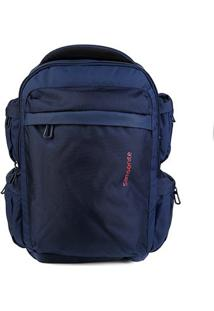 Mochila Samsonite Ultimate Data Laptop - Masculino-Azul