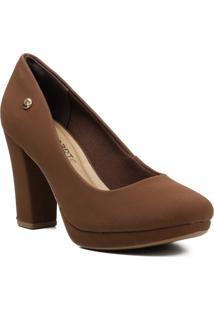Sapato Feminino Scarpin Via Marte 20-1654 Incolor