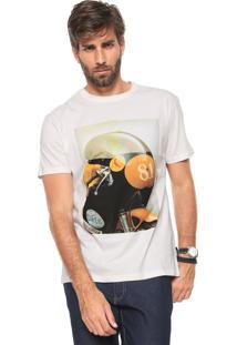 Camiseta Reserva Classic Sty Off-White